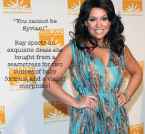 Rachel Ray visits Aleppo on $40 a day!